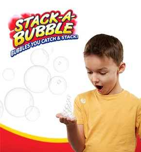 Såpbubblor - Stack a bubble