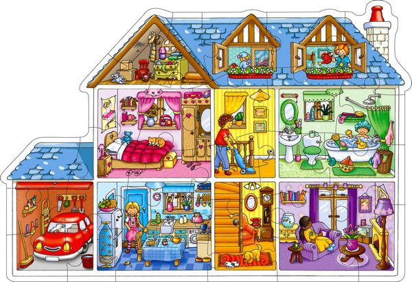 Golvpussel Dolls House