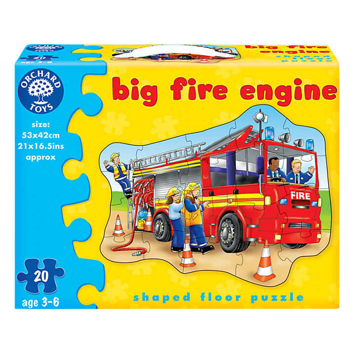 Golvpussel Big Fire Engine