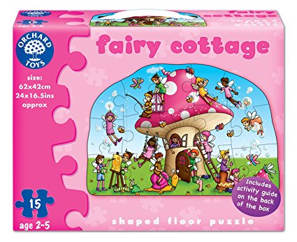 Golvpussel Fairy cottage