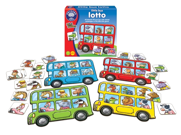 Spel - Little Bus lotto