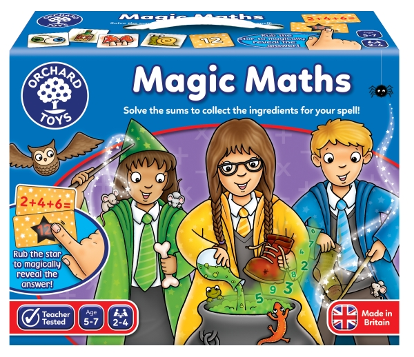 Spel - Magisk matematik/ Magic maths