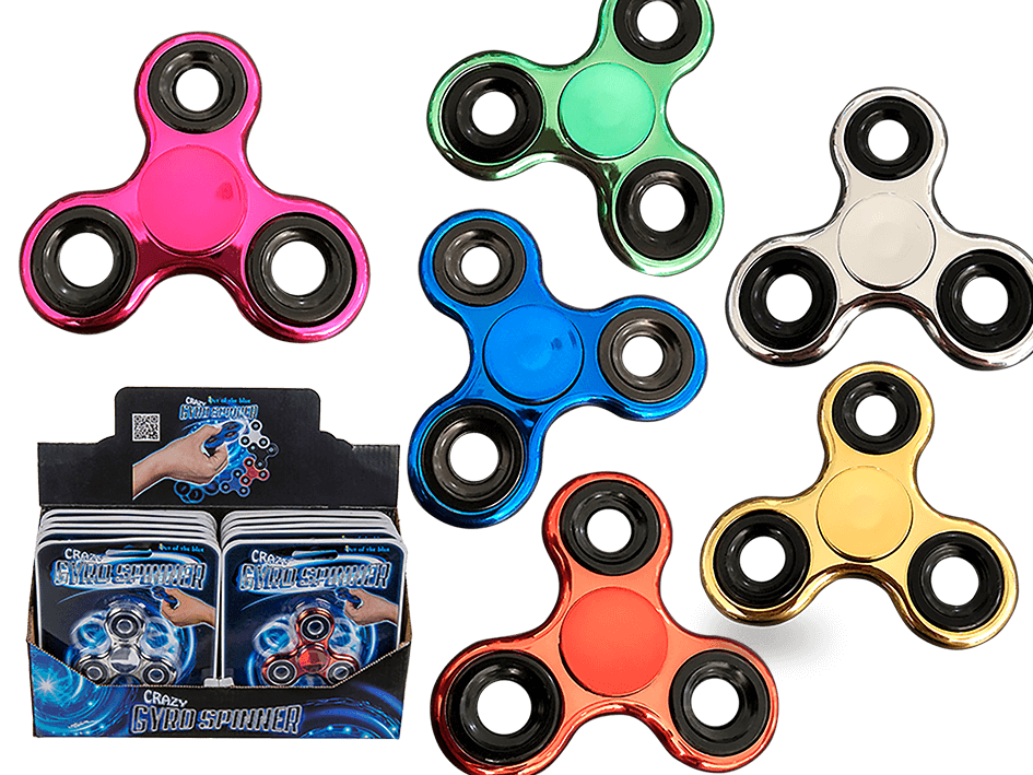 Fidget Spinner Metallic