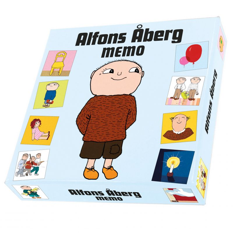 Spel Alfons Åberg memo